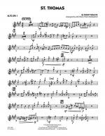 St. Thomas - Alto Sax 1 Sheet Music
