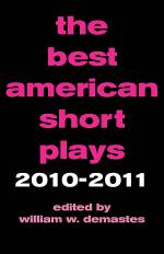 The Best American Short Plays 2010-2011 Sheet Music