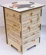 Hindemith Ludus Tonalis Stool/Side Table Sheet Music