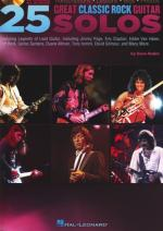 Hal Leonard 25 Great Classic Rock Guitar Sheet Music