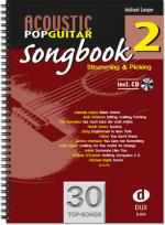 Edition Dux Acoustic Pop Guitar Songbook 2 Sheet Music