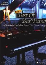 Schott More Best Of Bar Piano Sheet Music