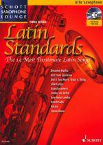 Schott Latin Standards A-sax Sheet Music