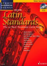 Schott Latin Standards T-sax Sheet Music