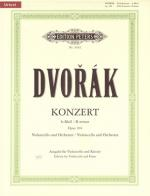 C.f. Peters Dvorak Cello Concert B Op.104 Sheet Music