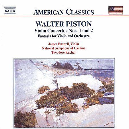 Piston: Violin Concertos Nos. 1 and 2 / Fantasia for Violin Sheet Music