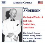 Anderson L.: Orchestral Music Vol. 4 - Irish Suite / Scottish Suite / Alma Mater / a Christmas Festi Sheet Music