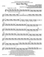 Born This Way - Electric Guitar Sheet Music