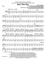 Born This Way - Bass Sheet Music