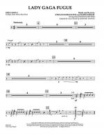 Lady Gaga Fugue - Percussion 1 Sheet Music