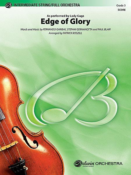 Edge of Glory Sheet Music