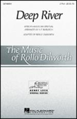 Deep River sheet music to print instantly for choir and piano (2-Part) (duets) Sheet Music