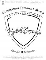 An American Tapestry I: March Sheet Music