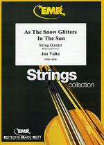 As The Snow Glitters In The Sun Sheet Music
