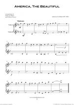 Patriotic Collection, USA Tunes and Songs sheet music to download instantly for two violins Sheet Music