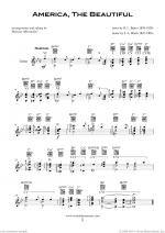 Patriotic Collection, USA Tunes and Songs sheet music to download instantly for guitar solo Sheet Music