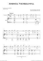 Patriotic Collection, USA Tunes and Songs sheet music to download instantly for trombone & piano Sheet Music