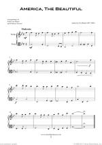 Patriotic Collection, USA Tunes and Songs sheet music to download instantly for violin & viola Sheet Music