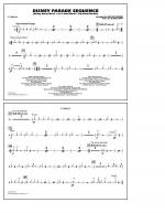 Disney Parade Sequence - Cymbals Sheet Music