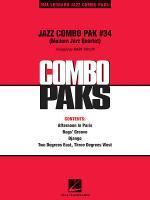 Jazz Combo Pak #34 (Modern Jazz Quartet) Sheet Music