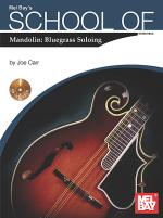School of Mandolin: Bluegrass Soloing Sheet Music