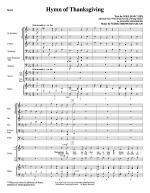 Hymn Of Thanksgiving - Full Score Sheet Music