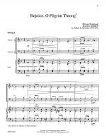 Rejoice, O Pilgrim Throng! (Marion) Sheet Music