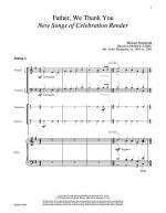 Father, We Thank You (Rendez a Dieu) Sheet Music