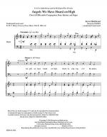 Angels We Have Heard on High -- Full Score and Instrumental Parts Sheet Music