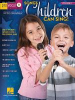 Songs Children Can Sing! Sheet Music