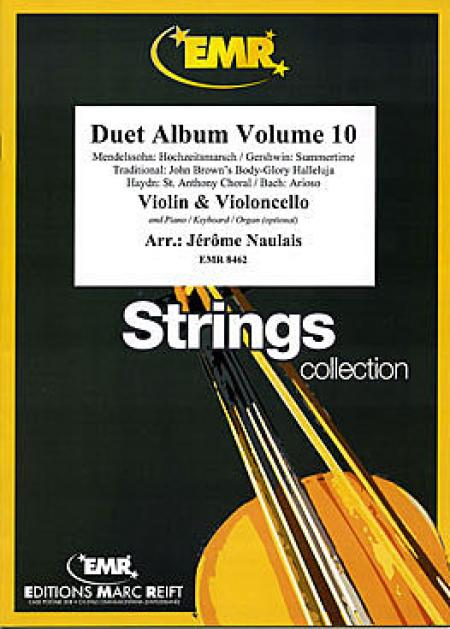 Duet Album Volume 10 (violin, cello) Sheet Music