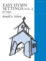 Easy Hymn Settings for Organ, Vol. 2 Sheet Music