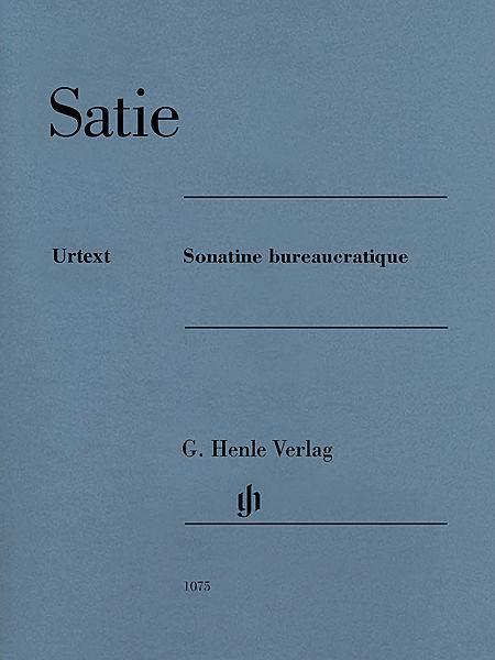 Erik Satie -¦Sonatine bureaucratique Sheet Music