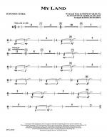 My Land - Suspended Cymbal Sheet Music