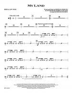 My Land - Irish Drum/Tom Tom Sheet Music
