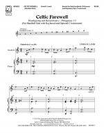 Celtic Farewell Sheet Music