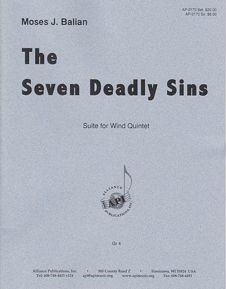 The Seven Deadly Sins Sheet Music