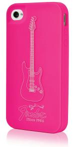 Fender iPhone 4 Protective Magenta Pick Silicone Case Sheet Music