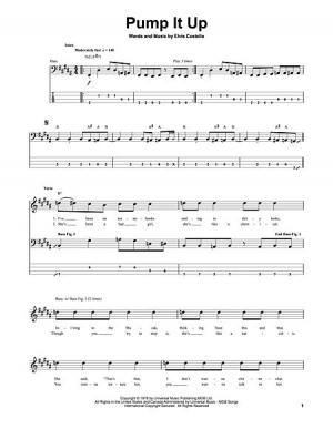 how to play pumped up kicks on guitar tabs