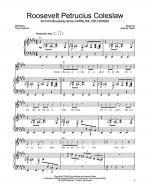 Roosevelt Petrucius Coleslaw Sheet Music