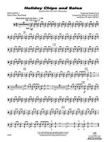Holiday Chips and Salsa: 1st Percussion Sheet Music