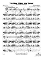 Holiday Chips and Salsa: 2nd Percussion Sheet Music