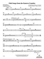 Folksongs from the Eastern Counties: 2nd Percussion Sheet Music