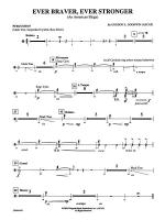 Ever Braver, Ever Stronger (An American Elegy): 1st Percussion Sheet Music