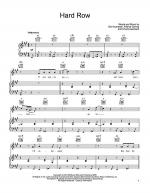 Hard Row Sheet Music