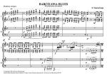 Barcelona Blues (2 Pianos) Sheet Music