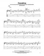 Cavatina Sheet Music