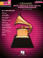 The Grammy Awards Best Female Pop Vocal Performance 2000-2009 Sheet Music