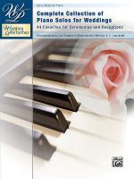 Wedding Performer -- Complete Piano Collection Sheet Music