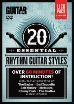 Guitar World -- 20 Essential Rhythm Guitar Styles Sheet Music